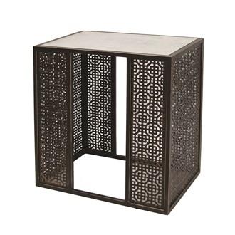Fretwork Side Table 52x36cm