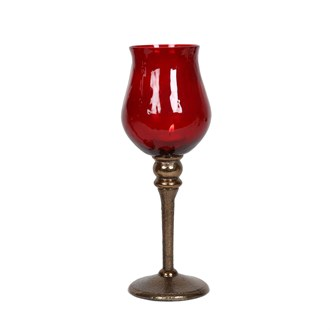 Goblet Pillar Candle Holder 28.5cm