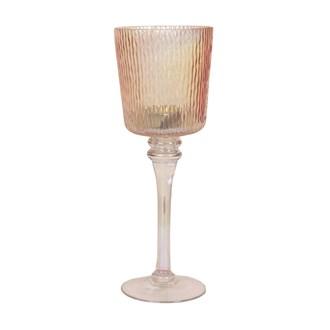 Gold Lustre Tea Light Holder 30cm