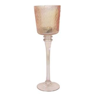 Gold Lustre Tea Light Holder 35cm
