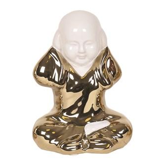 Gold Monk Figurine 15cm
