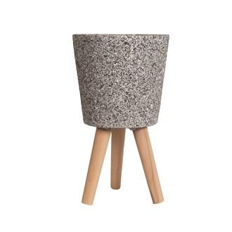 Granite Design Planter 22cmx23cm