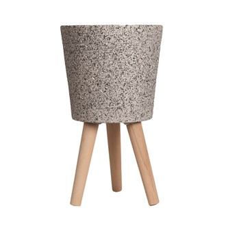 Granite Design Planter 31cm