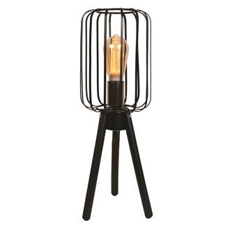 Black Tripod Table Lamp 50cm