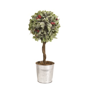 Leaf & Berry Topiary Tree 32cm