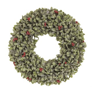 Leaf & Berry Wreath 41cm