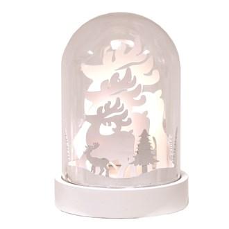 LED Dome Reindeer 18cm