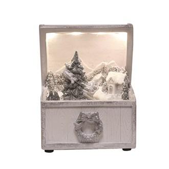 LED Jewellery Box Scene 13cm