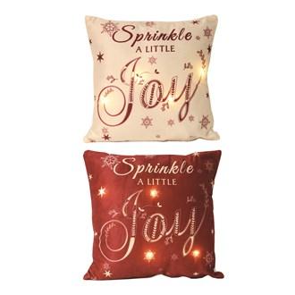 LED Joy Cushion 2 Assorted