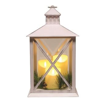 LED Lantern 40cm White