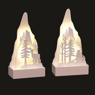 LED Mountain 15cm 2 Assorted