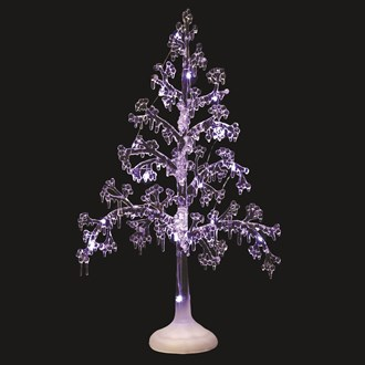 LED White Christmas Tree 51cm