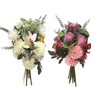 """Chrysanthemum """"Mum"""" Bouquet 2 Assorted 42cm"""