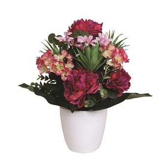 Peony & Hydrangea Arrangement 41cm