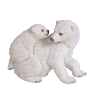 Polar Bear Family 21cm