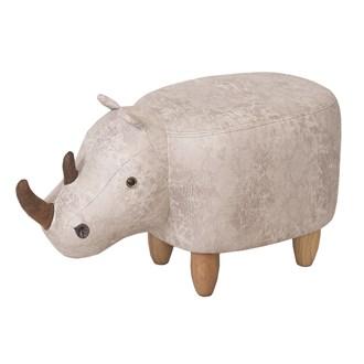 Rhino Footstool 63cm