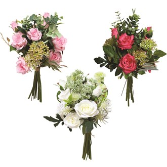 Rose Bouquet 3 Assorted 42cm