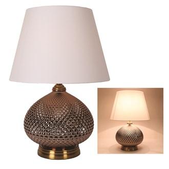 Round Table Lamp Copper 56cm