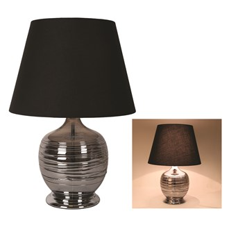 Round Table Lamp Grey 57cm