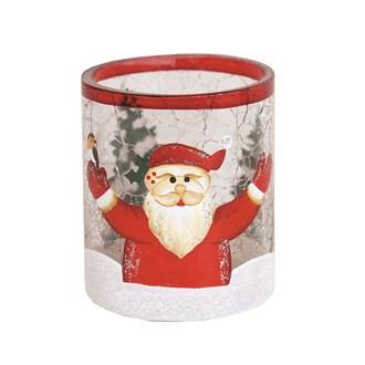 Santa Tealight Holder 7cm
