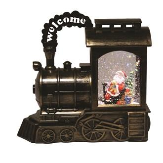 Santa Train Water Spinner
