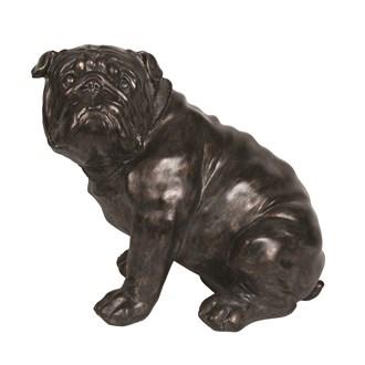 Sitting Bulldog 44cm