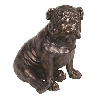 Sitting Bulldog 55cm