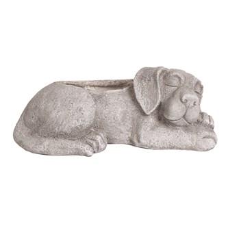 Sleeping Dog Planter 43.5cm