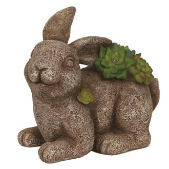 Solar Powered Decorative Garden Rabbit 17cm