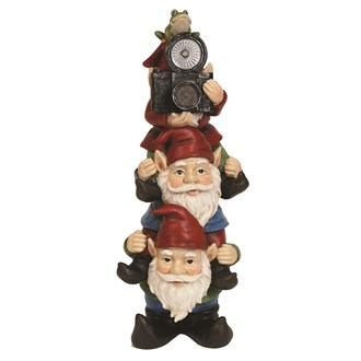 Solar Powered Gnomes 40cm