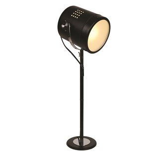 Black Spotlight Table Lamp 60cm