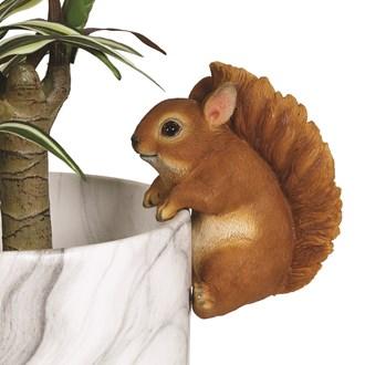 Squirrel Pot Hanger 13cm