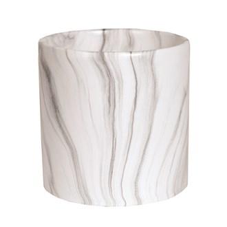 White Marble Planter 20x20cm