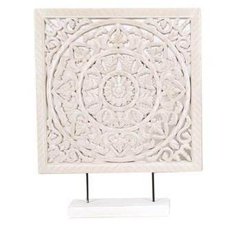 Wooden Floral Decoratio 40cm