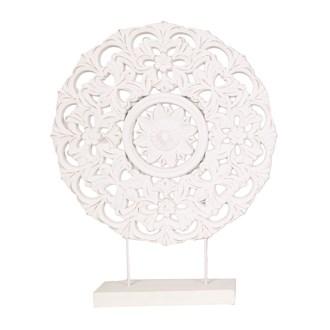 Wooden Floral Decoration 53.5cm