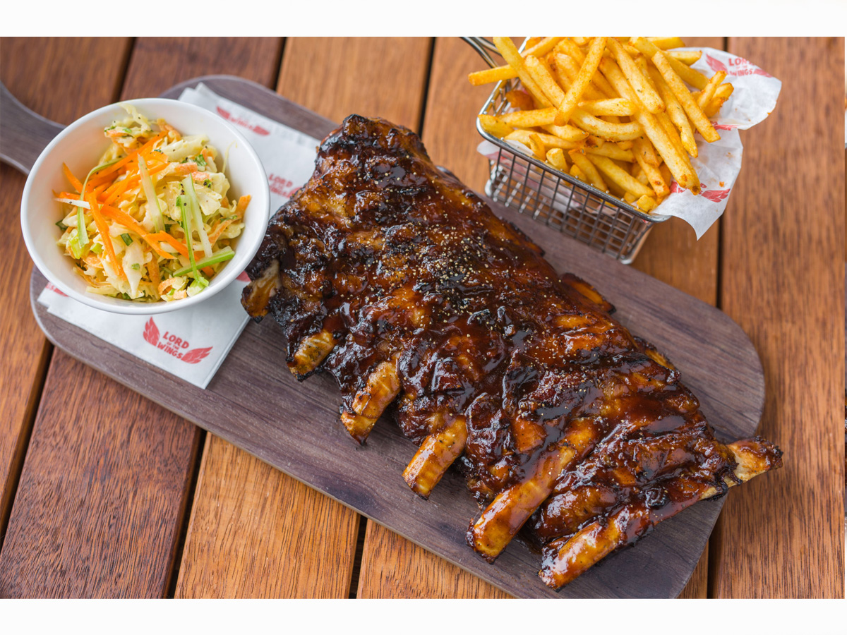 Baby back ribs half rack | Order Delivery Baby back ribs ...