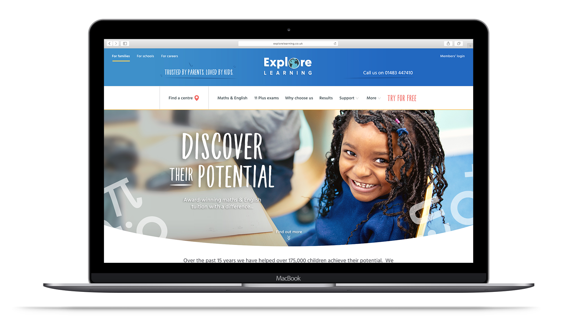 Explore Learning Homepage