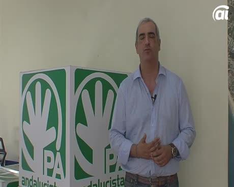 Ruiz anuncia que se presenta a las primarias andalucistas