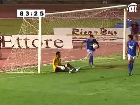 Repartos de puntos en el primer encuentro del San Fernando CD contra el Cádiz CF