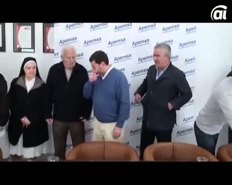 Apemsa realiza donativos a tres organizaciones