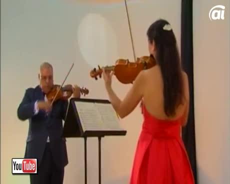 El dúo de violinistas Iberclásico regresa a Corominas