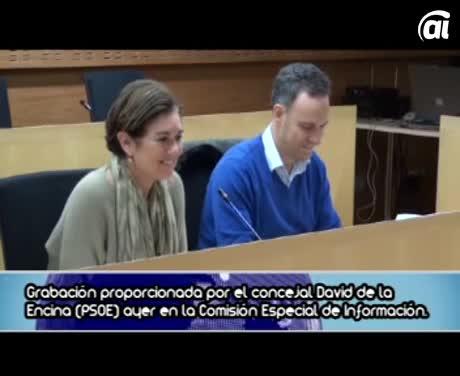 La grabación desvela que Martín pudo relacionarse con empresas