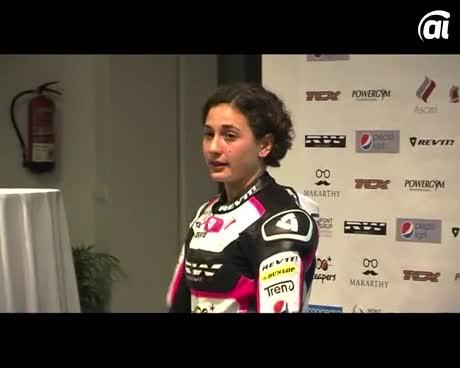 Ascari entra en el Mundial de Motos patrocinando a la joven Ana Carrasco