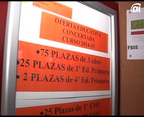 Aún quedan plazas para escolarizar a los niños en San Felipe Neri