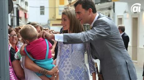 Casi toda la Familia Real (en versión extendida) ha visitado San Fernando