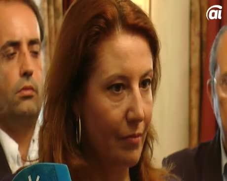 Carmen Crespo se reúne con la alcaldesa para tratar temas de seguridad