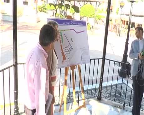 El plan para transformar el centro de San Pedro comienza con la reforma de la calle Vélez Málaga