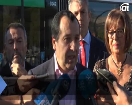 El metro reduce atascos en la Universidad, ha destacado la rectora malagueña