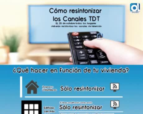 La OMIC recuerda que este domingo hay que resintonizar los canales de la TDT
