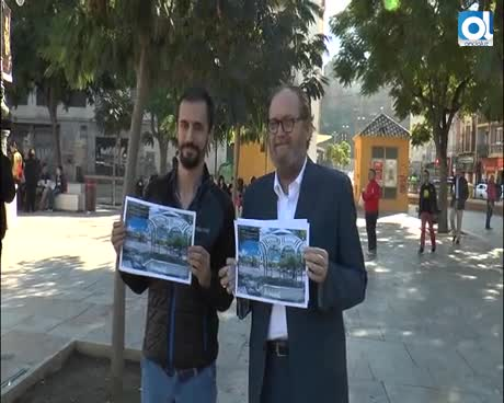 El PA propone la instalación de un kiosko musical en la Plaza de la Merced para bandas de Málaga